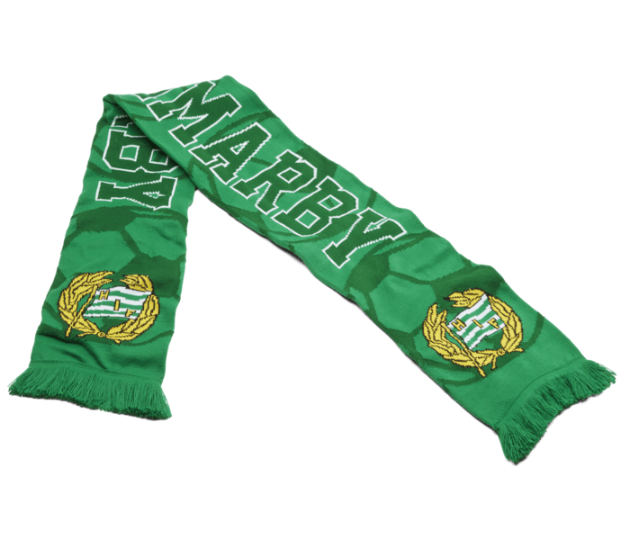 Hammarby Halsduk print GRÖN