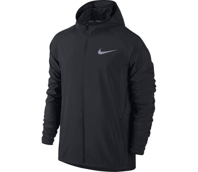 classic fit 1f322 70db6 Nike M Essential löparjacka - BLACKREFLECTIVE SILV - Intersp