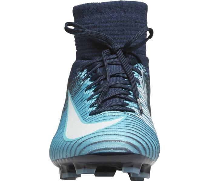 Nike Jr Mercurial Superfly V DF FG Fotbollsskor - OBSIDIAN WHITE-GAMMA BLUE- GAMM - Intersport b3841ac4cb1e8