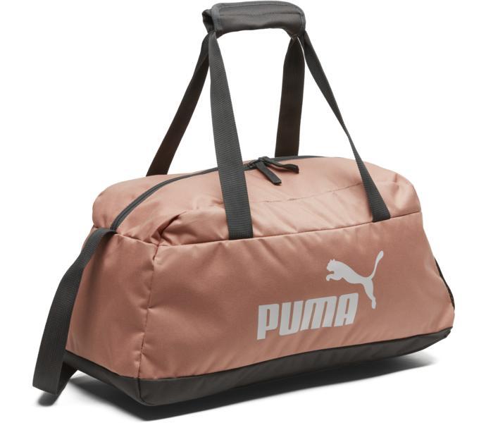 Underbar Puma Phase träningsväska - Peach Beige - Köp online hos Intersport LI-13