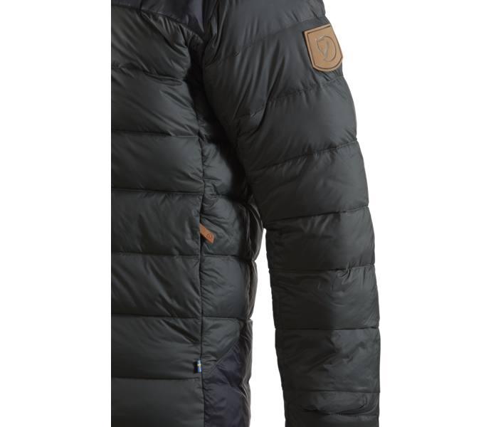 Fjällräven Keb Expedition Down Jacket - Stone Grey-Black - Intersport 0ba7aefd95eea