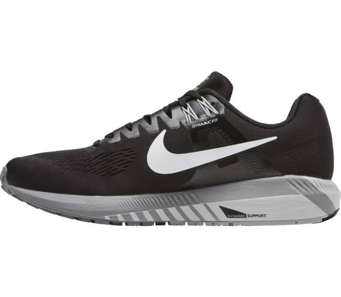 quality design 1bf46 72ee1 Nike W Air Zoom Structure 21 löparsko - BLACK WHITE-WOLF GREY-COOL GRE -  Intersport
