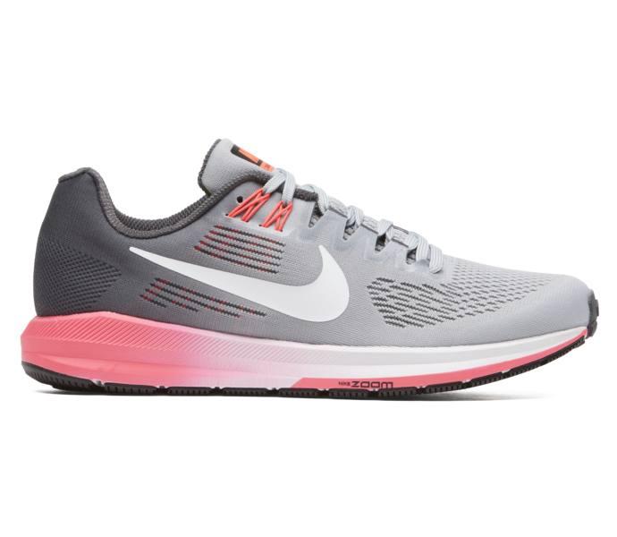 detailed look 9e70e 26011 Nike W Air Zoom Structure 21 löparsko - DARK GREY WHITE-WOLF GREY-HOT -  Intersport
