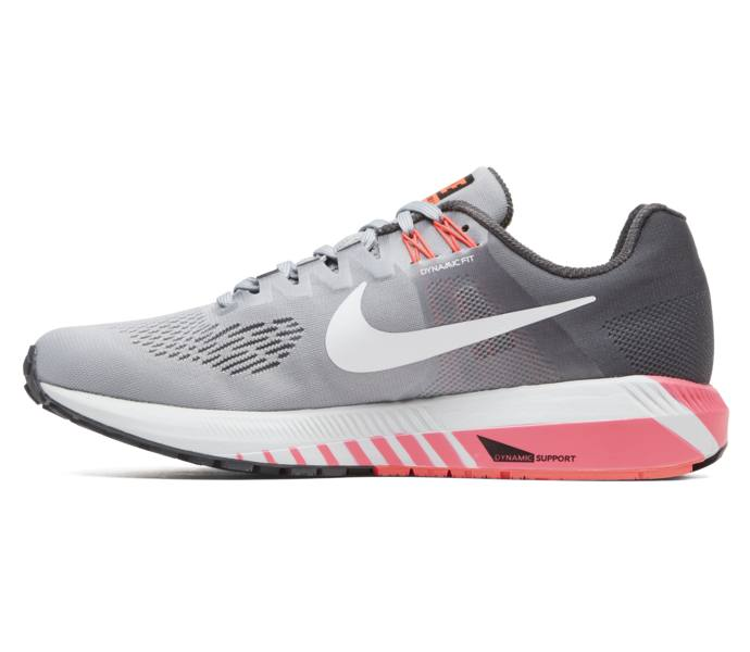 detailed look 26376 19b23 Nike W Air Zoom Structure 21 löparsko - DARK GREY WHITE-WOLF GREY-HOT -  Intersport