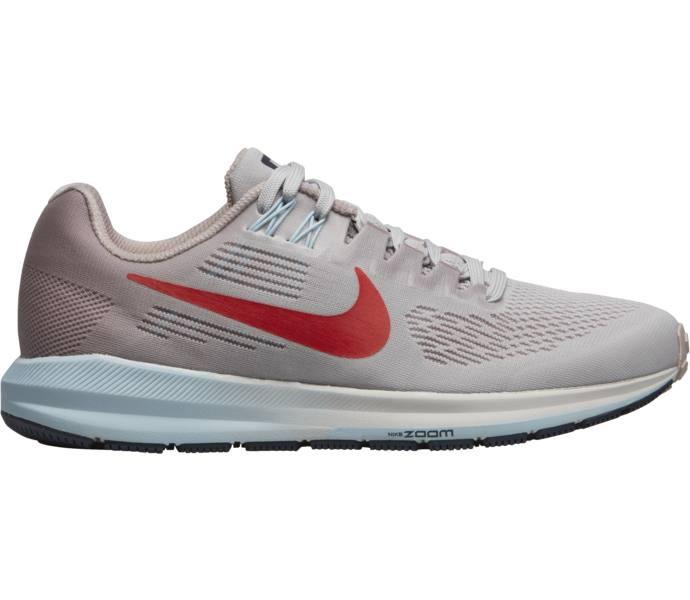 best sneakers 0f215 23506 Nike W Air Zoom Structure 21 löparsko - VAST GREY HABANERO RED-ELEMENT -  Intersport
