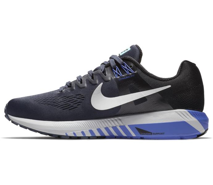 low priced 1f02d 593d5 Nike W Air Zoom Structure 21 löparsko - THUNDER BLUE METALLIC SILVER-B -  Intersport