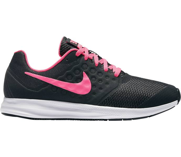 the best attitude 1a529 4ca10 Nike Downshifter 7 (GS) löparsko BLACK HYPER PINK-WHITE