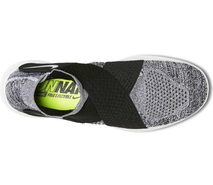Nike W Free RN Motion FK 2017 löparsko BLACKWHITE PURE