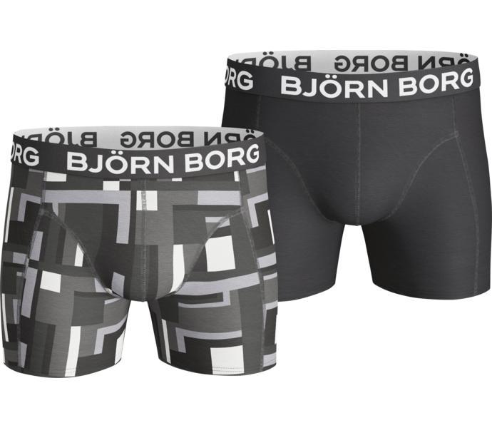 Björn Borg 2p Shorts BB blocked court boxershorts - Black Beauty ... 4def8cb5a385f