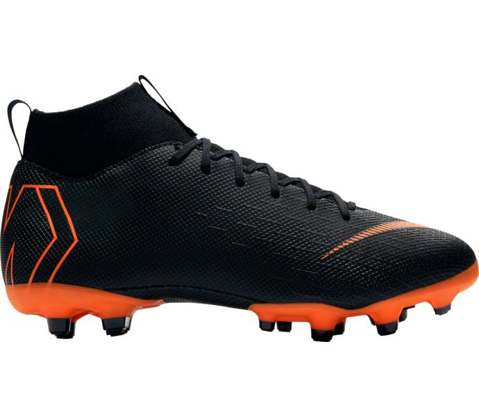 buy popular d104e bad0e Nike JR SUPERFLY 6 ACADEMY GS MG BLACK TOTAL ORANGE-WHITE