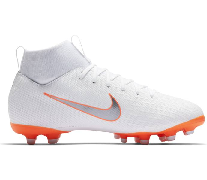 big sale ff28e 0ca3d Nike JR SUPERFLY 6 ACADEMY GS MG WHITE CHROME-TOTAL ORANGE-CHRO