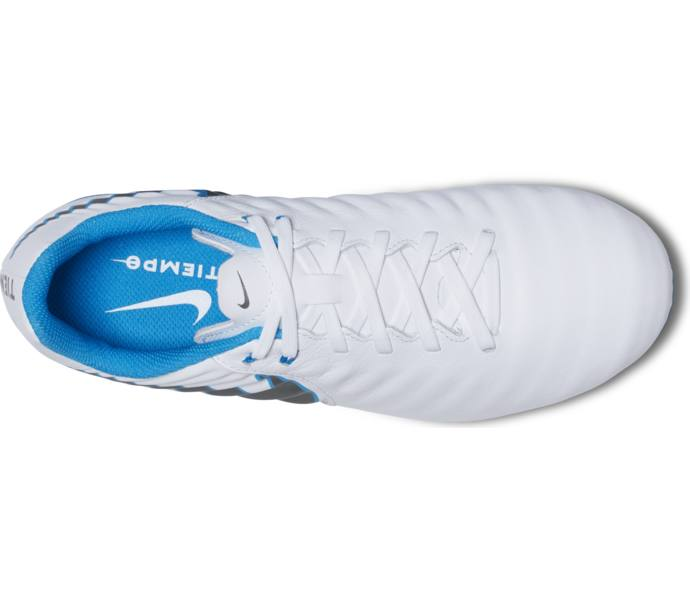 classic fit 7405e 4d6fb Nike Nike Jr Legend 7 Academy FG fotbollsskor - WHITE/CHROME-BLUE  HERO-CHROME - Intersport