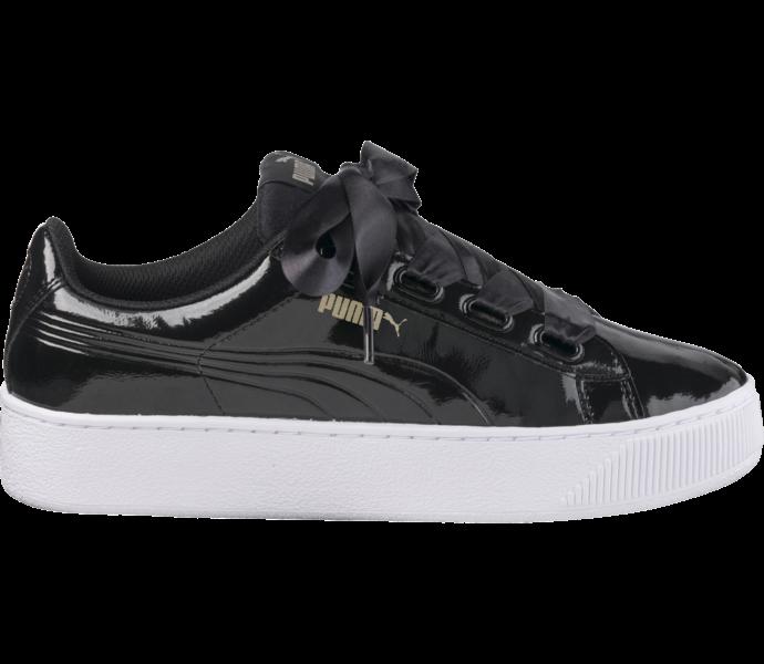 Puma Vikky Platform Ribbon sneaker Puma Black-Puma Black