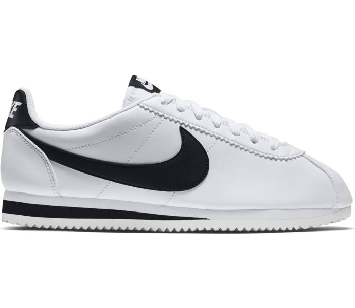 more photos 0f543 a22aa Wmns Classic Cortez Leather sneakers. Nike  Dam  Svart, Vit