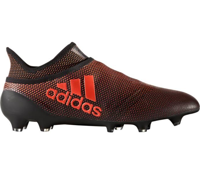 best value 1c9dc 26d2d adidas X 17+ Purespeed FG AG Fotbollssko - CBLACK SOLRED SORANG6 -  Intersport