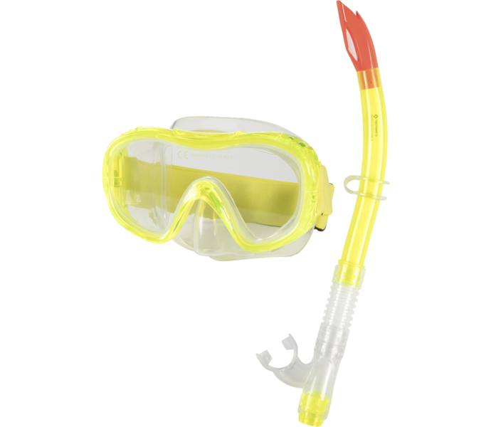 Tecnopro Snorkel och cyklop set - YELLOW - Intersport c63f2c6e1ecad
