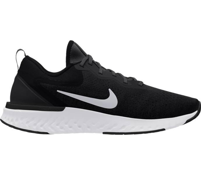 Nike Odyssey React löparsko - BLACK WHITE-WOLF GREY - Intersport d34468d1bfc74