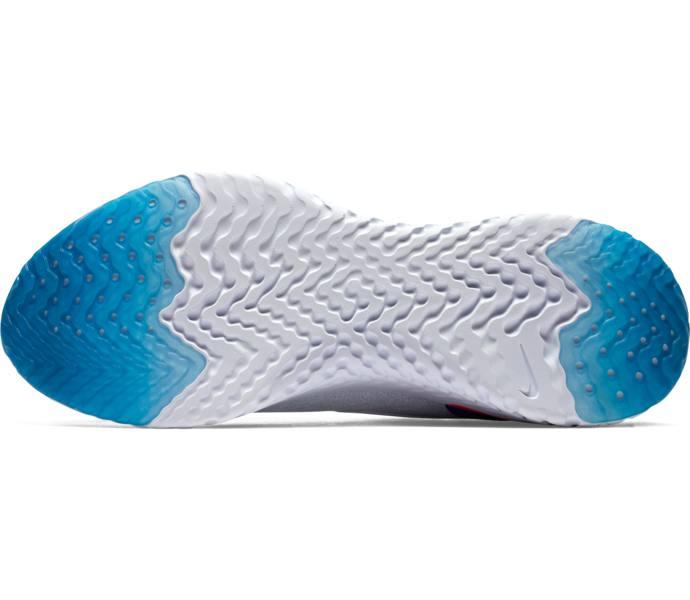 wholesale dealer 2200f 63c97 Nike Epic React Flyknit löparsko WHITE WHITE-RACER BLUE-PINK BL