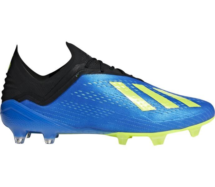 4a4bb5de1d4 adidas X 18.1 Firm Ground Fotbollsskor - FOOBLU/SYELLO/CBLACK - Intersport