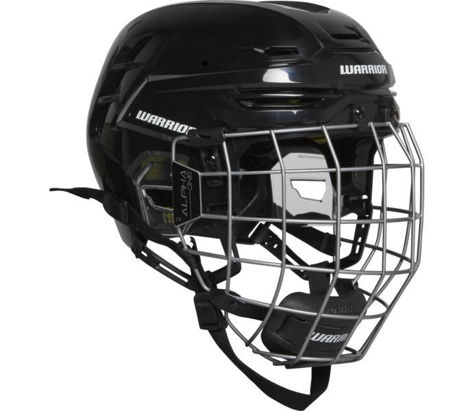 Warrior Hockey Alpha Pro hjälm - BK BLACK - Intersport ba31eaa630d05