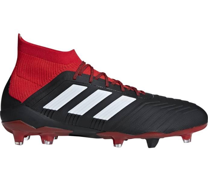 new arrival a4515 4166f adidas PREDATOR 18.1 FG AG fotbollsskor CBLACK FTWWHT RED