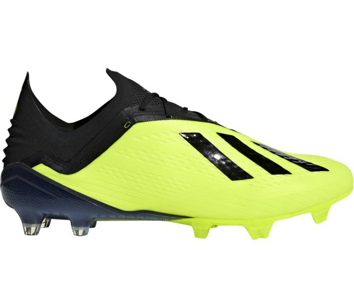32131d51c84 adidas X 18.1 FG/AG fotbollsskor - SYELLO/CBLACK/FTWWHT - Köp online ...