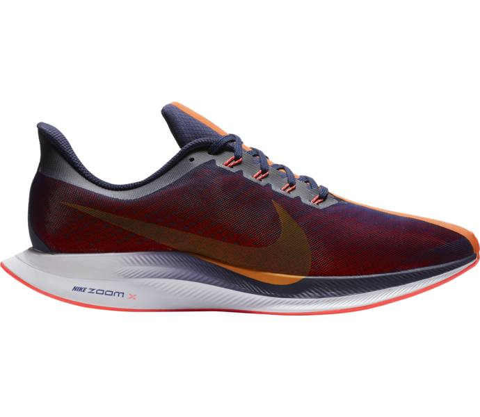 new style d76ff 0e2b0 Nike M Zoom Pegasus 35 Turbo löparskor BLACKENED BLUE ORANGE PEEL-FLA