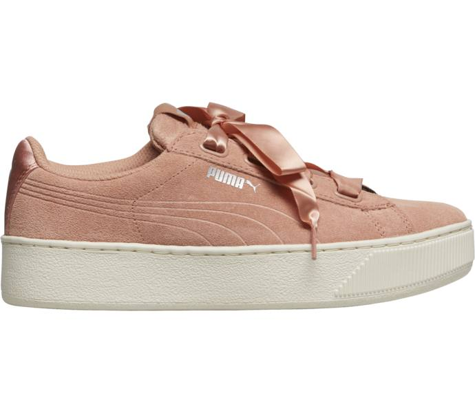 ac9314503ef2 Puma Vikky Platform Ribbon S W sneakers - Dusty Coral-Dusty Coral ...