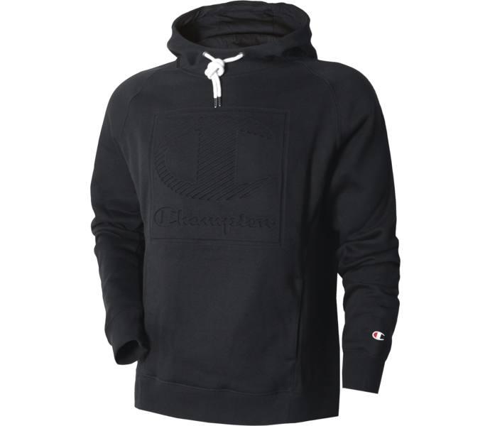 Champion Hooded Logo jacka Black Beauty Köp online hos