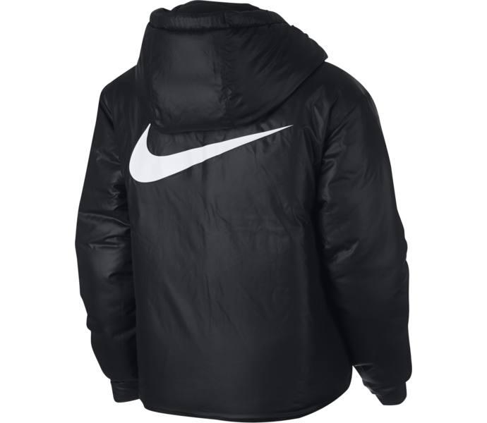skönhet officiella foton på fötter skott av Nike W NSW Synthetic Fill jacka - BLACK/WHITE - Köp online hos ...