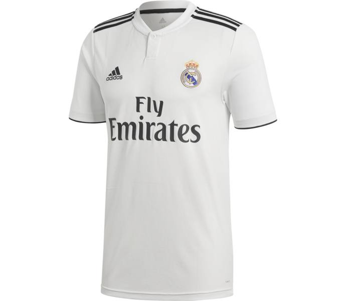 adidas Real Madrid Replica Hemmatröja - CWHITE BLACK - Intersport 74702b3d8343f