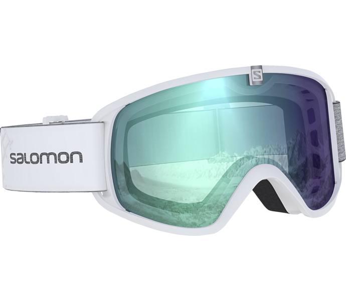 Salomon Force Photo W skidglasögon - White - Intersport fb5763ed593e4