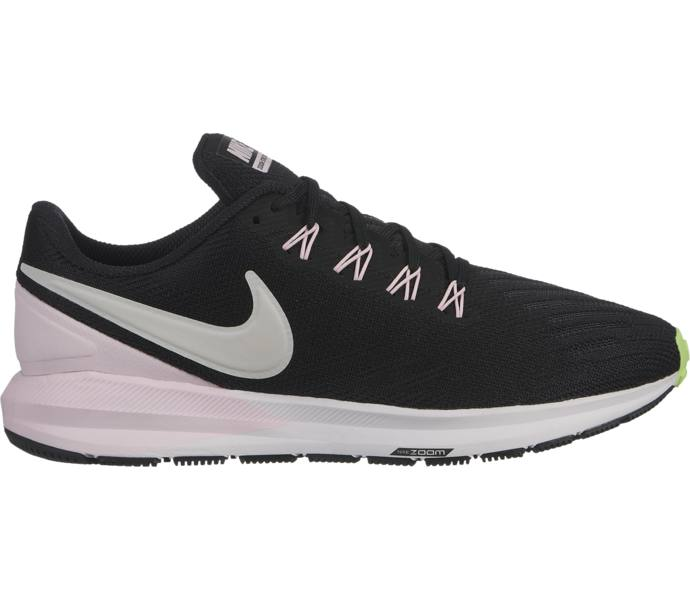 new product 12be9 72b3b Nike W Air Zoom Structure 22 löparskor BLACK VAST GREY-PINK FOAM -LIM