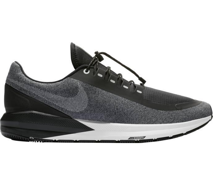 Nike Air Zoom Structure 22 Shield löparskor BLACK WHITE-COOL GREY-VAST GRE af05935355510