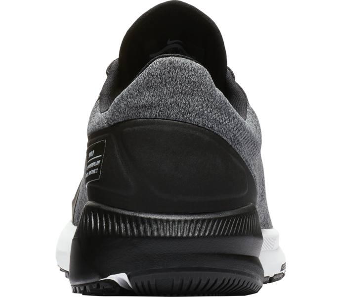 Nike Air Zoom Structure 22 Shield löparskor - BLACK WHITE-COOL GREY-VAST  GRE - Intersport cd3bfe446c1b0
