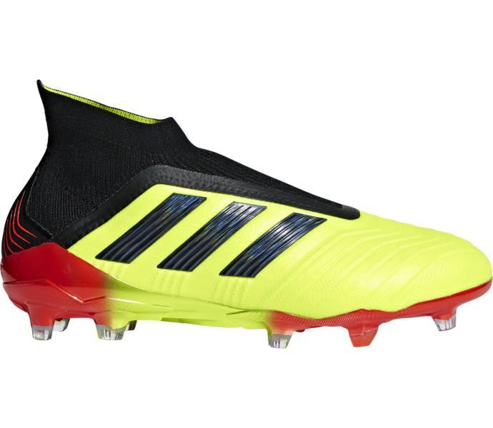 adidas Predator 18+ Firm Ground Fotbollsskor - SYELLO CBLACK SOLRED ... eb6fa1530c412