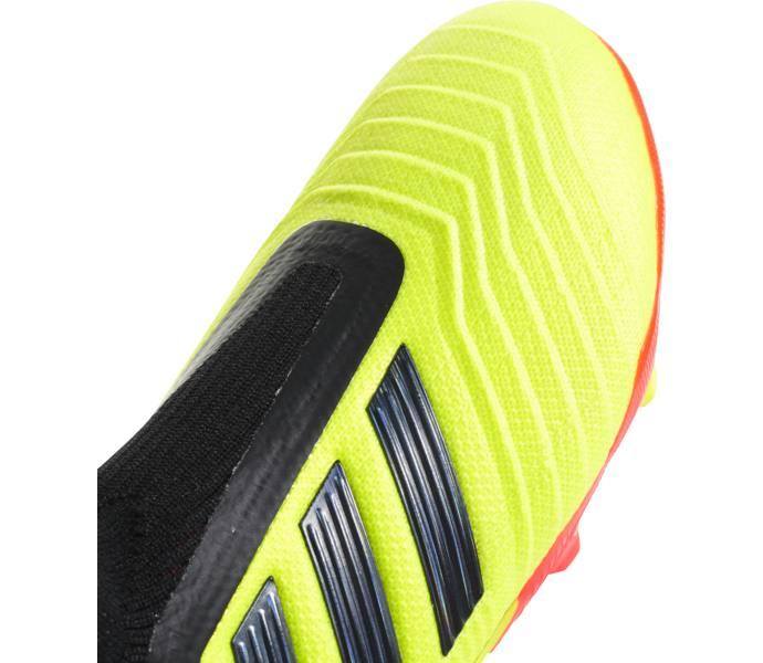 adidas Predator 18+ Firm Ground Fotbollsskor - SYELLO CBLACK SOLRED -  Intersport 69fe66bf70669