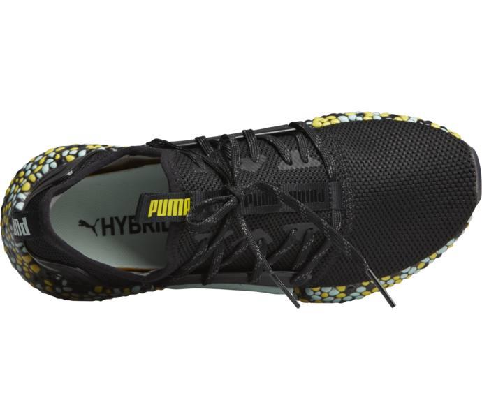 1243d290b82d3b Puma Hybrid Rocket Runner W - Puma Black-Fair Aqua-Blazing Yellow -  Intersport