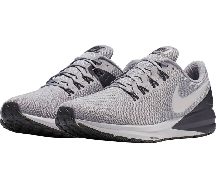 timeless design 96dd8 11c2f Nike Air Zoom Structure 22 löparskor - ATMOSPHERE GREY VAST GREY-THUNDER G  - Intersport