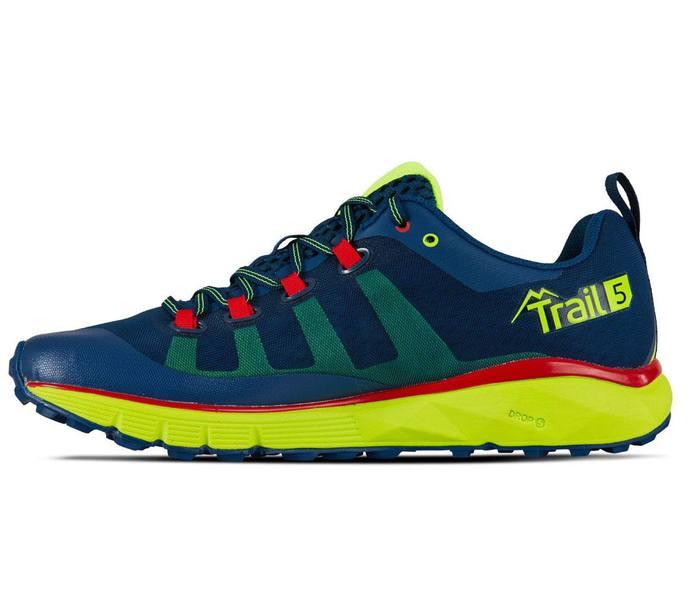 Salming Trail 5 Shoe Men Löparskor NavyYellow Köp
