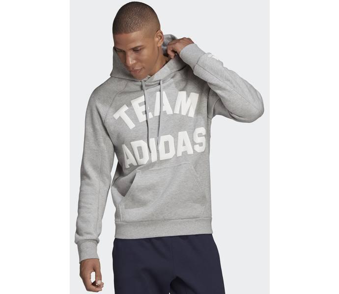 adidas M V PO Hoodie tröja MGREYH Köp online hos Intersport