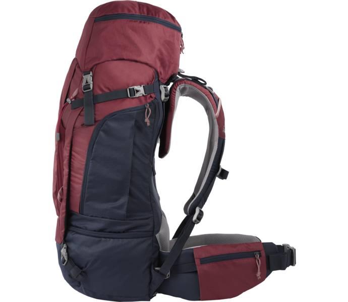 mckinley väska 70 liter röd